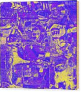 1743 Abstract Thought Wood Print