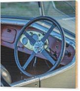 1743.032 1930 Mg Steering Wood Print