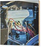 1743.034 1930 Mg Engine Wood Print