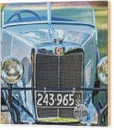 1743.037 1930 Mg Grill Wood Print