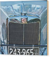 1743.040 1930 Mg Classic Car Wood Print