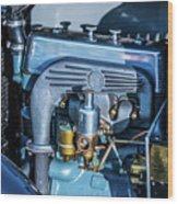 1743.046 1930 Mg Engin Plate Wood Print