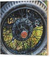 1743.051 1930 Mg Wheel Wood Print