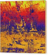 1745 Abstract Thought Wood Print