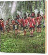 1763 Battle Of Bushy Run Pennsylvania Wood Print