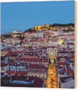 Lisbon, Portugal Wood Print