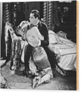 Silent Film Still: Couples Wood Print by Granger