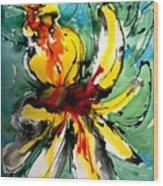 The Divine Flower Wood Print