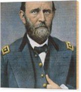 Ulysses S. Grant (1822-1885) Wood Print