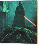 Video Star Wars Art Wood Print