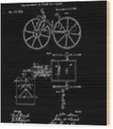 1871 Hand Carriage Patent Drawing Wood Print