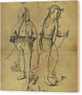 1876 Fireman's Suit Wood Print