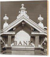 1880 Bank Wood Print