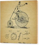 1883 Bicycle Wood Print