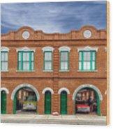 1887 Charleston Fire Station - 1 Wood Print