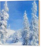 Landscape Color Wood Print