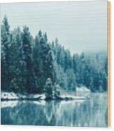 Landscape Modern Wood Print
