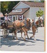 Old Town San Diego Wood Print