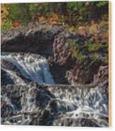 Paint Landscapes Wood Print
