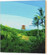 19- Shangri La Wood Print
