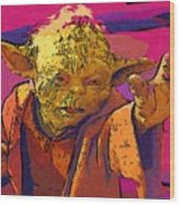 Star Wars At Art Wood Print