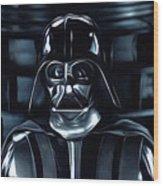 Star Wars Galaxies Poster Wood Print