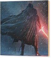 The Force Awakens Wood Print