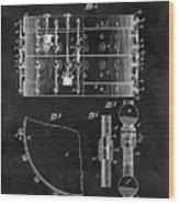 1900 Orchestra Drum Patent Wood Print