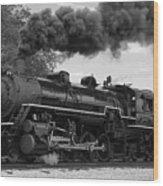 1905 Steam Engine Wood Print