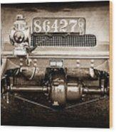 1906 White Model F Roi Des Belges Touring Rear Lamp -0058s Wood Print