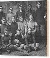 1908 Football Team Wood Print