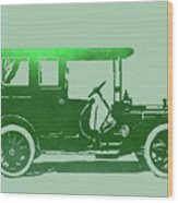 1909 Packard Limousine Green Pop Wood Print