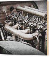 1910 Benz 22-80 Prinz Heinrich Renn Wagen Engine -1702ac Wood Print