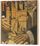 1910 Cartoon Expressing Concern That Wood Print by Everett