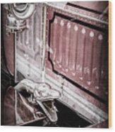 1912 Rolls-royce Silver Ghost Rothchild Et Fils Style Limousine Snake Horn -0711ac Wood Print