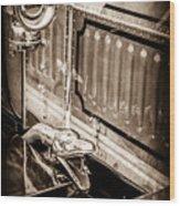 1912 Rolls-royce Silver Ghost Rothchild Et Fils Style Limousine Snake Horn -0711s Wood Print