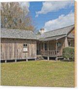 1912 Simmons Farm In Christmas Florida Wood Print