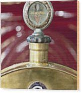 1913 Chalmers Model 18 Jordan Motometer Wood Print by Jill Reger