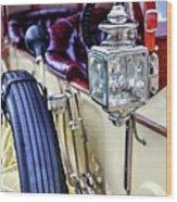 1913 Rolls Royce Silver Ghost Detail Wood Print