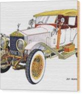 1914 Rolls Royce Silver Ghost Wood Print