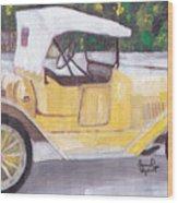 1915 Chevy Wood Print