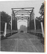 1915 Hudson Road Bridge Wood Print
