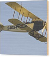 1917 Curtiss Jn-4d Jenny Flying Canvas Photo Poster Print Wood Print