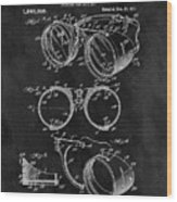 1917 Welder Goggles Wood Print