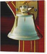1919 Fire Truck Bell Wood Print