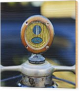 1919 Ford Model T Hood Ornament Original Wood Print by Paul Ward