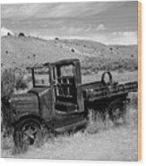 1920's International Truck Wood Print