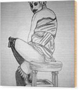 1920s Women Series 10 Wood Print