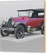 1922 Franklin Open Touring Sedan Wood Print