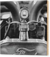 1923 Ford Hood Ornament 2 Wood Print